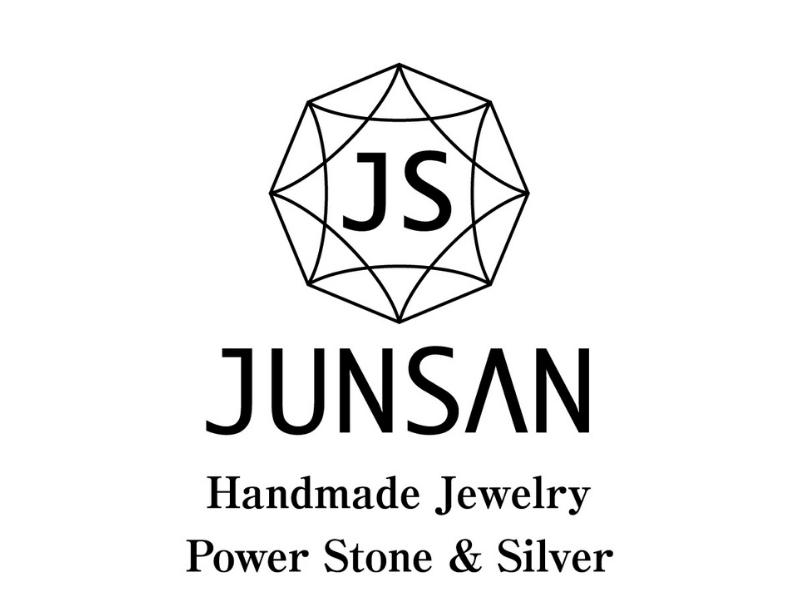 JUNSAN Handmade Jewelry Power Storne & Silver